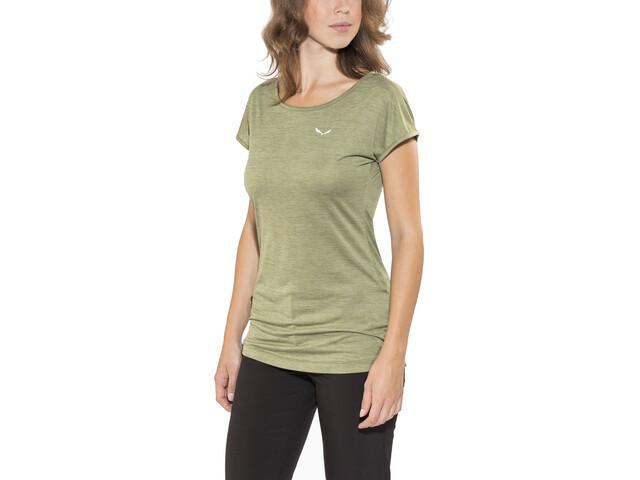 Salewa Puez Melange Dry - T-shirt manches courtes Femme - olive
